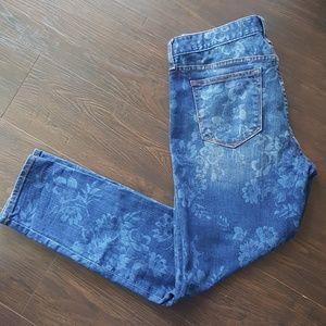 Gap Always Skinny 1969 Women's Patterned Jeans